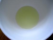 the liquid
