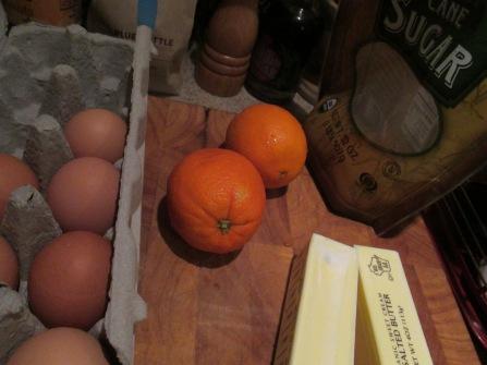orange puding
