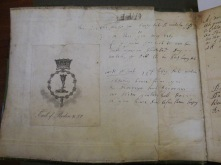 Earl of Roden Commonplace Book - Bookplate, inside front cover