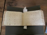Earl of Roden Commonplace Book - sample opening in the recipe section