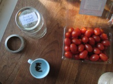 to pickle tomatas