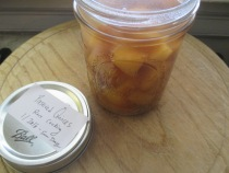 preserved quinces